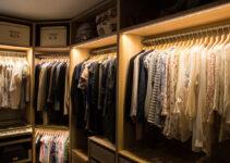 Indretning af walk in closet