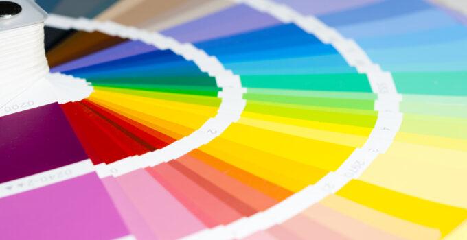 Farvesammensætning til indretning